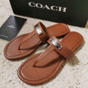 BNIB Coach sandals